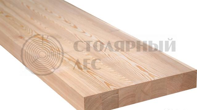 Мебельный щит клееный из лиственницы 500/40/2000 по